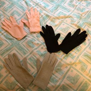 Set of vintage gloves